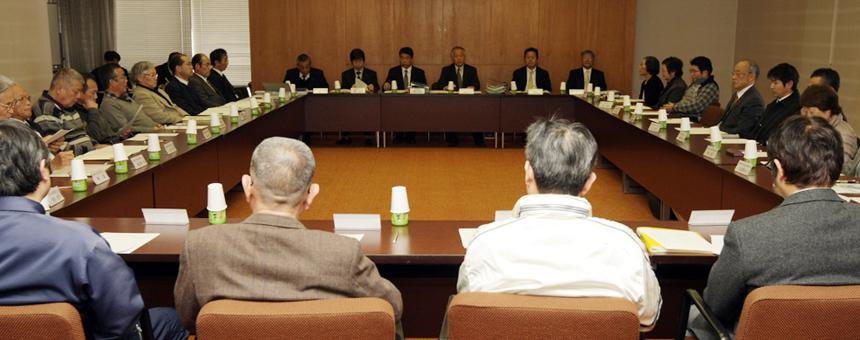 産廃最終処分場計画反対へ連携を合意した意見交換会